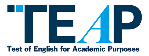 TEAP(ティープ:Test of English for Academic Purposes)ロゴ